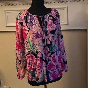 Lilly Pulitzer used tunic size medium Beautiful